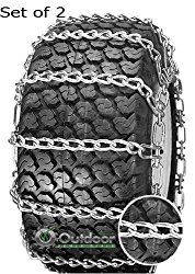 Opd Tire Chains Set Of 2 23x8 50 12 23x8 50x12 8x12 2 Link With Tighteners Tractor Tire Snow Chains Chain