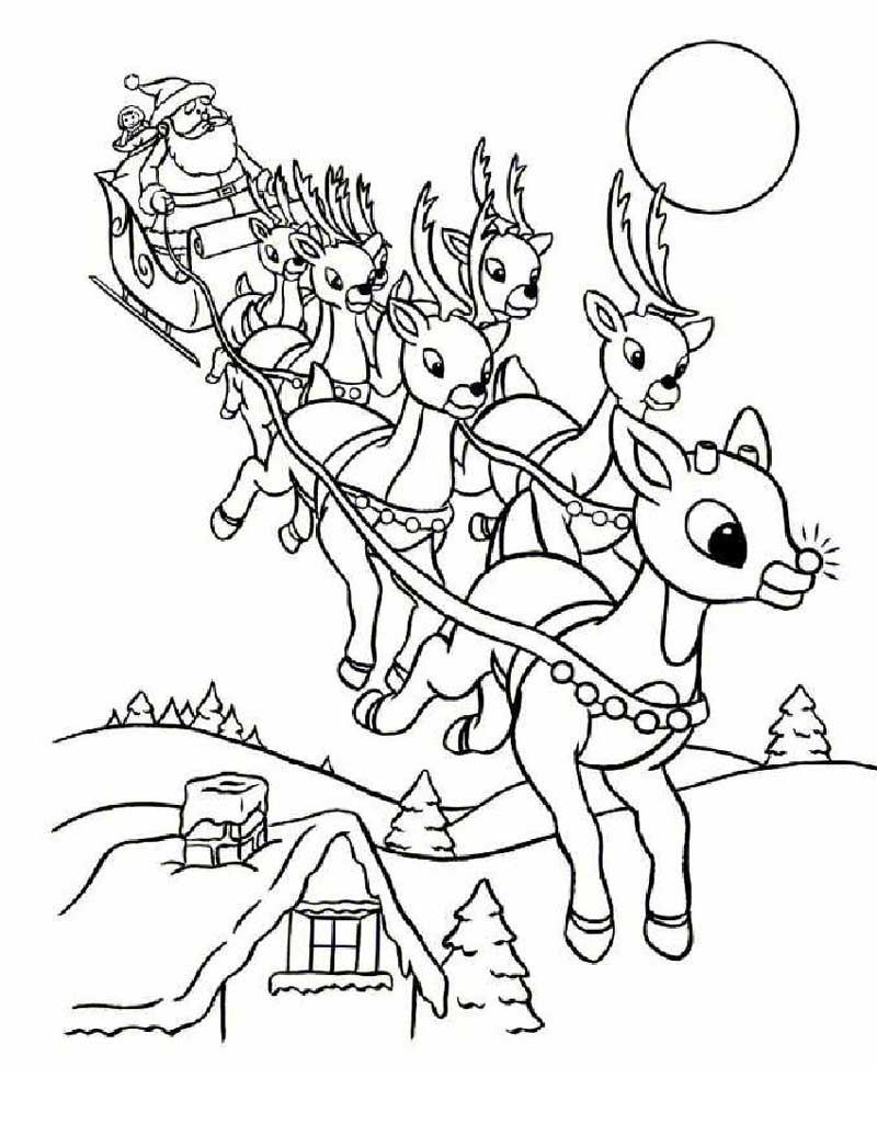 Www Christmas Drawings Rudolph Coloring Pages Christmas Coloring Sheets Printable Christmas Coloring Pages