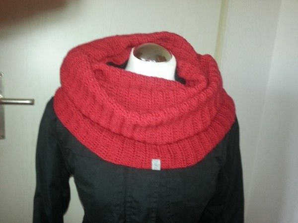 Kostenlose Häkelanleitung | Loopschal Loop gehäkelt | Crochet ...