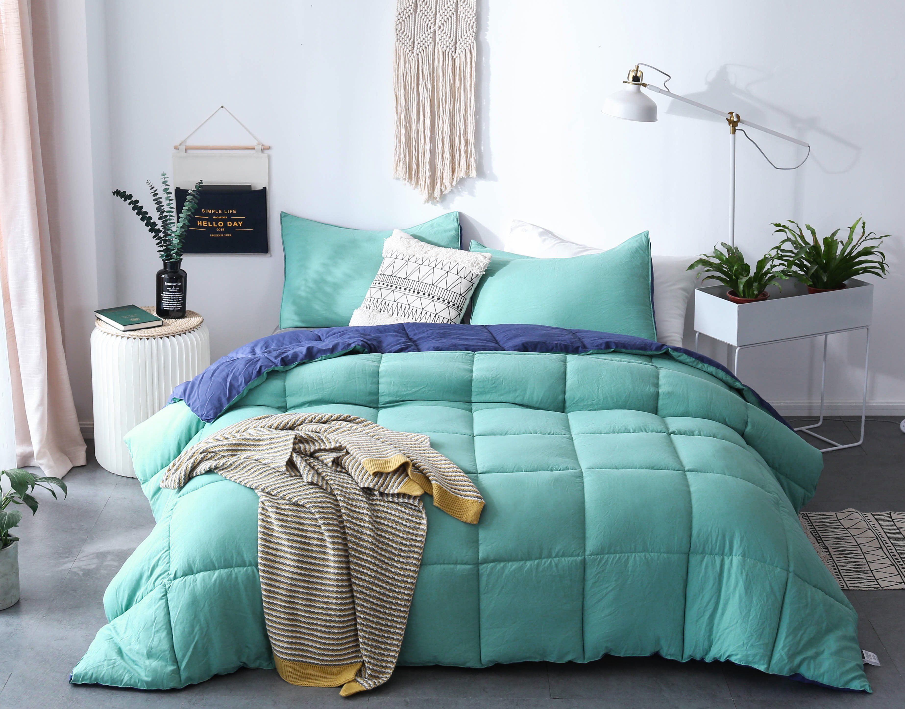 Cozy Soft Luxury Down Alternative Comforter Set ...