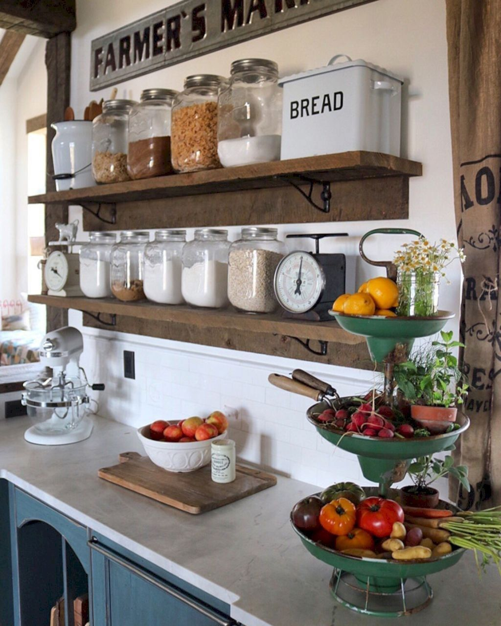 Küche Renovieren Diy Awesome Farmhouse Kitchen Storage Ideas 08