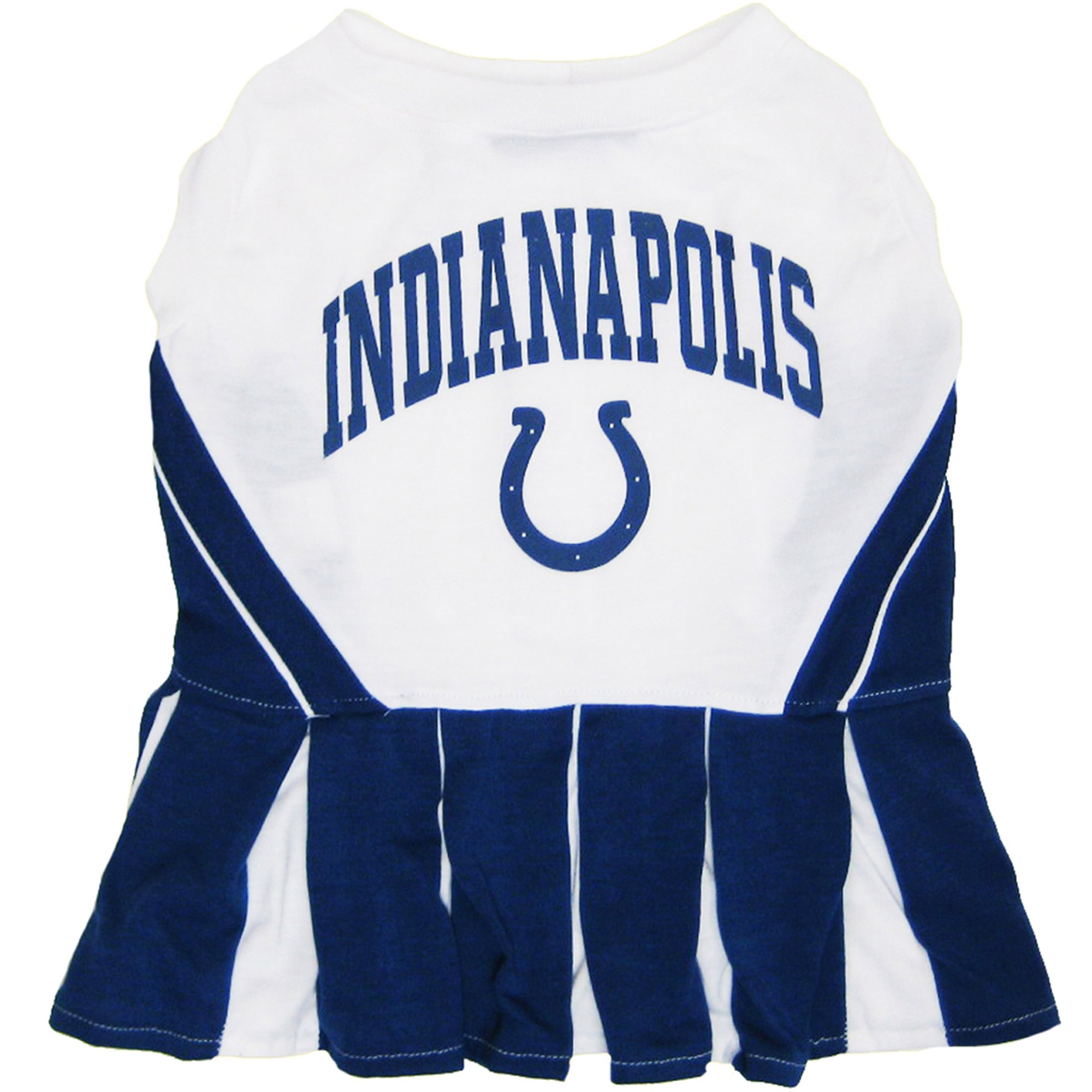 Pets First Indianapolis Colts Nfl Cheerleader Outfit X Small Blue Cheerleading Outfits Colts Cheerleaders Dog Cheerleader