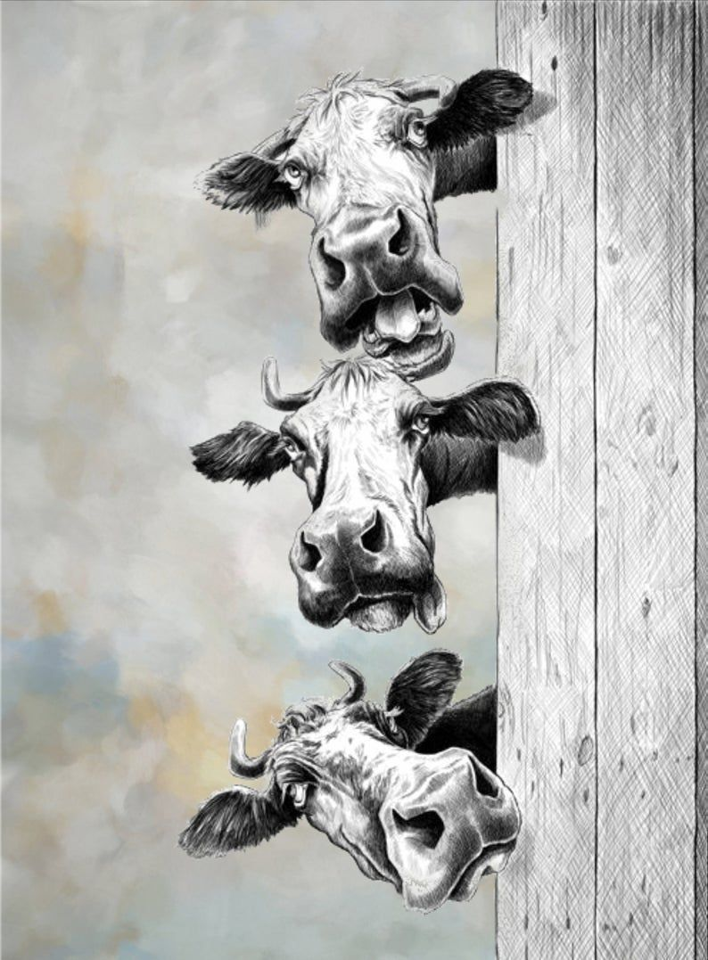 Contemporary Wall Art Contemporary Wall Art Feng Shui Canvas Wall Art Acrylic Paintings Abstract Art Abstract Art Paintings In 2020 Cow Art Cow Art Print Cow Painting