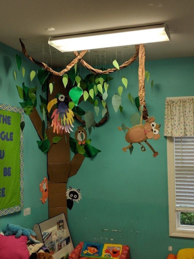 23 Jungle Classroom Theme Ideas Weareteachers Jungle Preschool