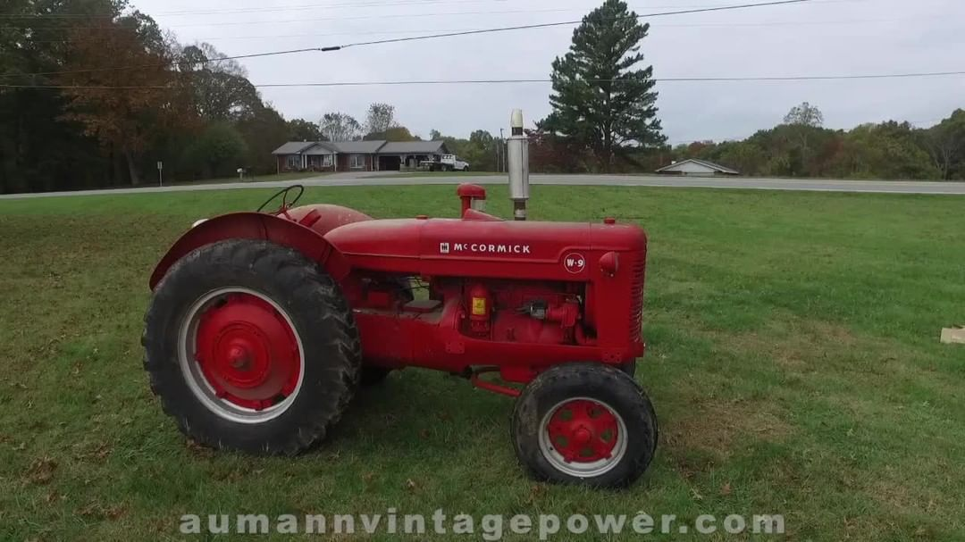 Is That A W 9 Or A I 9 Mccormick Deering This Tractor Might Be