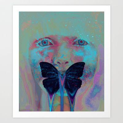 Virginea+Art+Print+by+Georgiath+-+$18.00