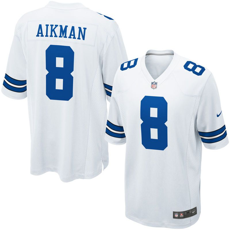 Troy Aikman Dallas Cowboys Nike Youth Retired Game Jersey - White