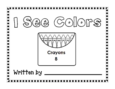 free colors book that goes with a SMART board activity