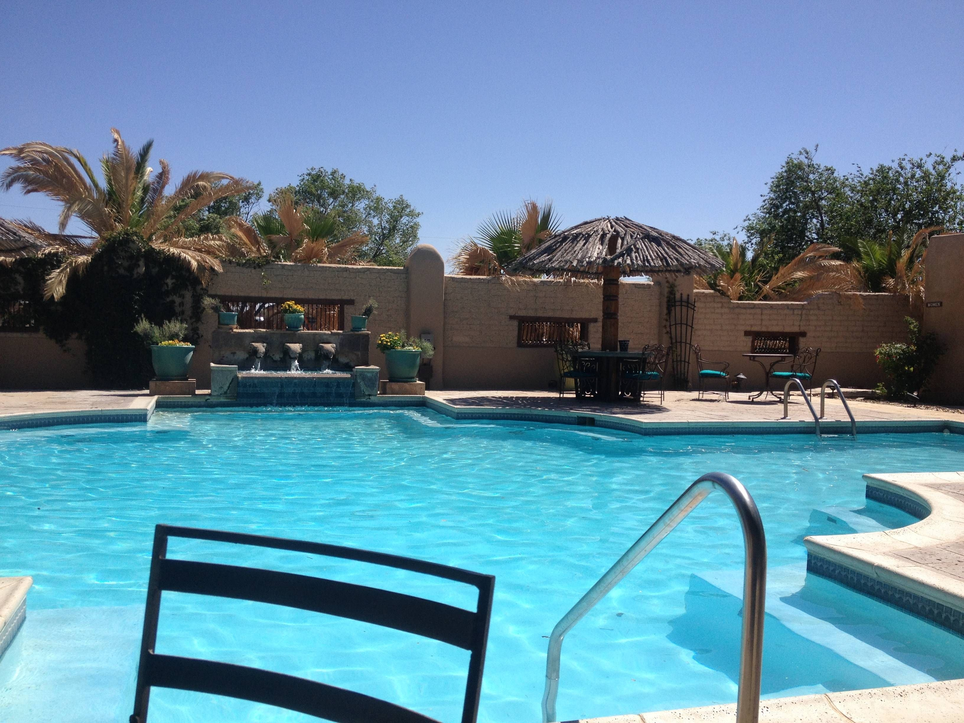 Gage Hotel Pool Marathon Texas Hotel Pool Big Bend National Parks