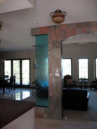 Humidifall Indoor Waterwall Transparent Water Walls Water