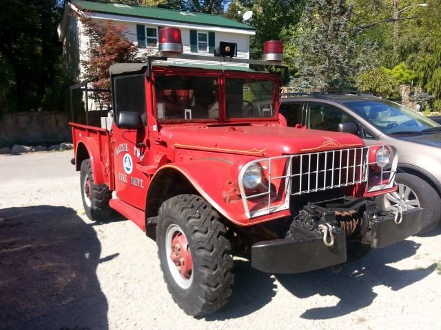 1952 Dodge M37 Fire Truck $12,000 [OH]