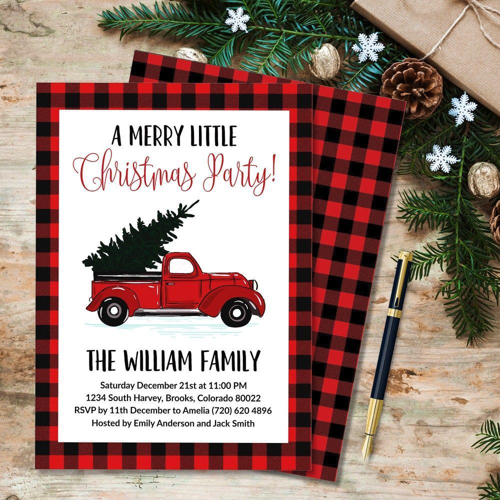 Printable Christmas Invitation Template Christmas Party Invitation Editable Te Christmas Invitations Christmas Invitations Template Christmas Invitation Card
