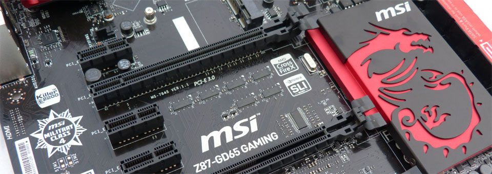 MSI Z87-GD65 Gaming - http://www.tecnogaming.com/2013/06/msi-z87-gd65-gaming/