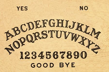 photograph regarding Ouija Board Printable named Custom made Ouija Board Printable Templates - Invitation