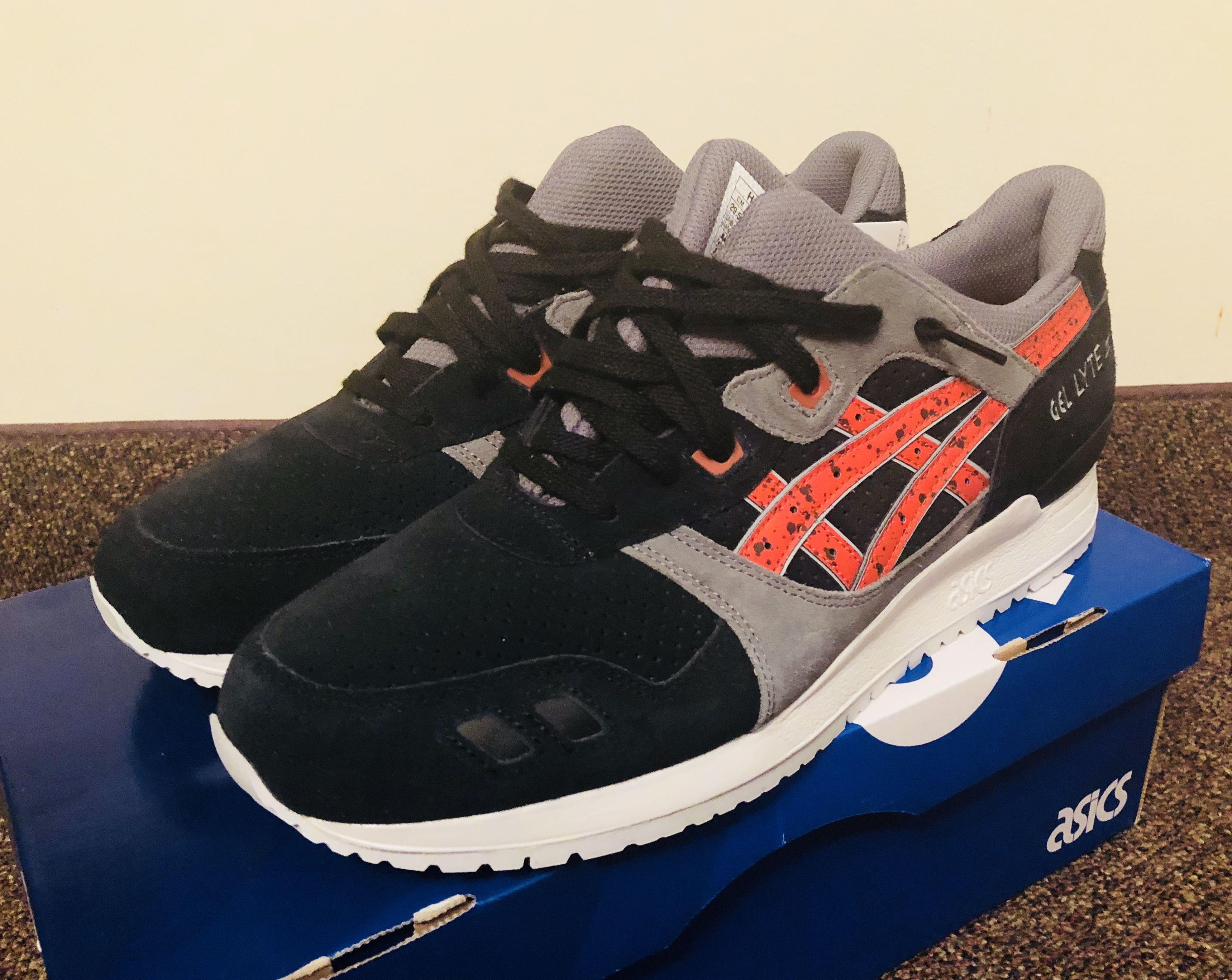 Asics Gel Tiger Men Gel Lyte | III noir chili # sneakers sneakers occasionnels | fb14329 - madridturismobitcoin.website