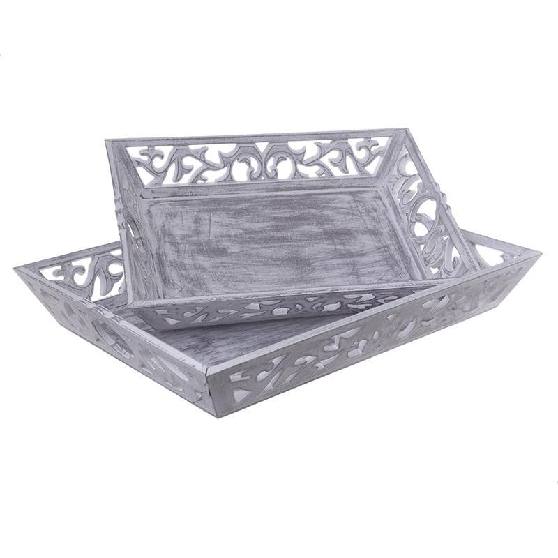 Decorative Trays Decorative Tray Set Of 2 Pieces  Trays  Placemats  Decorations