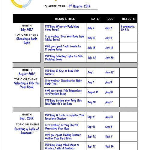 Editorial Calendar Template for Content Marketing #Contentmarketing