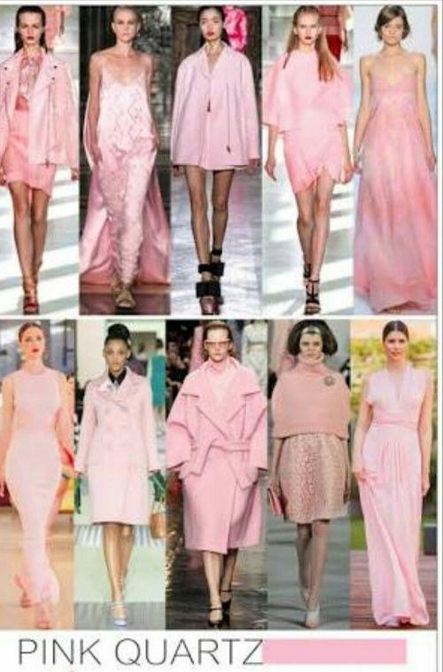 2016 Fashion And New Year Image Fashion 2016 Fashion Trends Rose Quartz Color