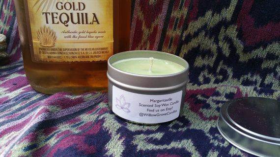 Margaritaville Scented Soy Candle by WillowGroveCandles on Etsy