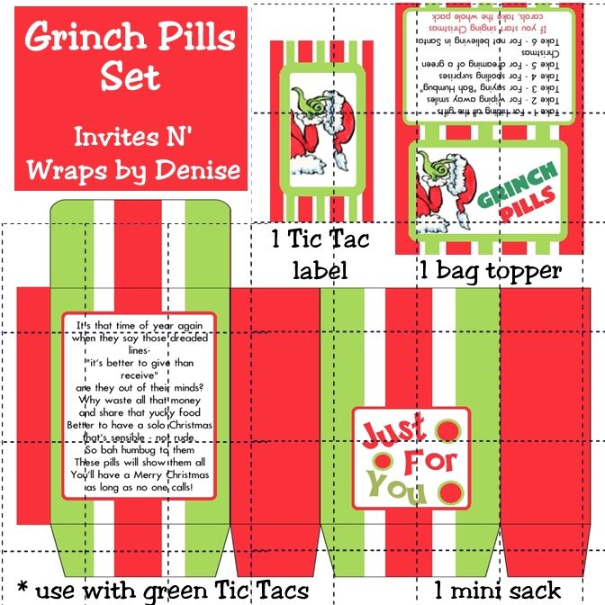 photo about Grinch Pills Printable referred to as Printable Grinch Supplements Template