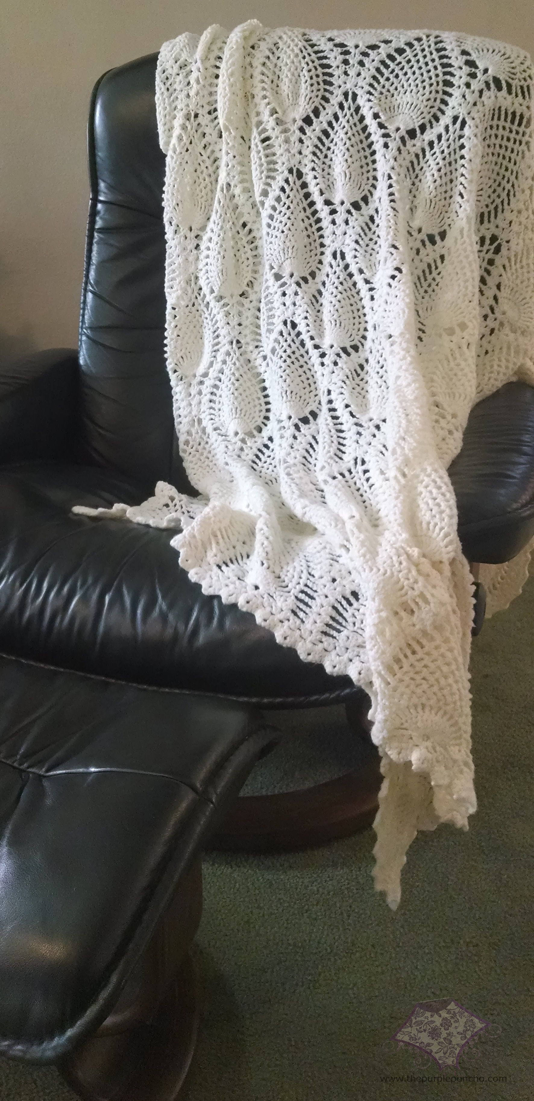 Pineapple Afghan | Crochet - Afghans, Blankets and Quilts ...
