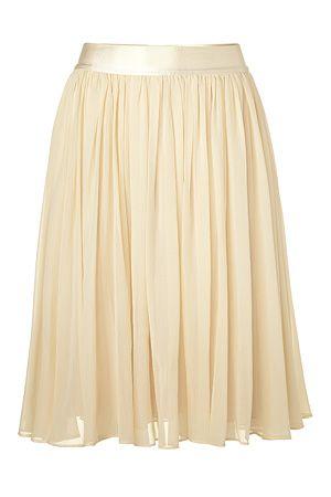 SEE BY CHLOE  Almond swing skirt