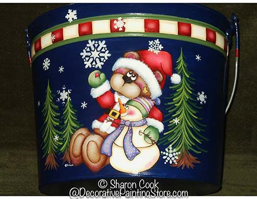 Friends N Flakes Pattern Tole Painting Patterns Decorative Painting Christmas Drawing
