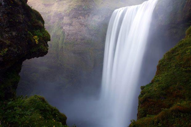 Skogarfoss waterfall in Skogarfoss, South Iceland.  Picture: JAMES APPLETON/BARCROFT