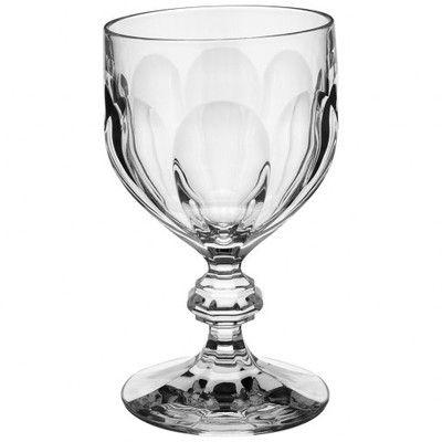 Bernadotte 12 Oz Crystal Goblet Crystal Goblets Villeroy Boch Water Goblets
