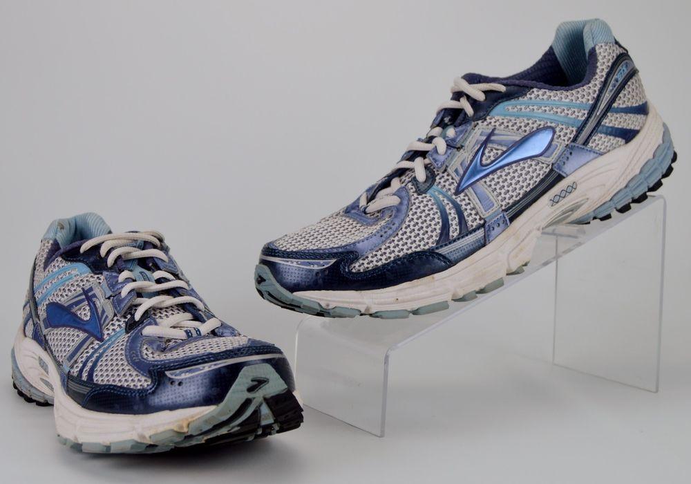 Brooks Adrenaline GTS 12 Men's Size 12 M Blue Gray Running Shoes #Brooks #RunningCrossTraining