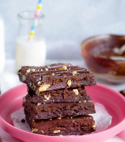 Resep Brownies Panggang Klasik Makanan Manis Membuat Kue Coklat Ide Makanan
