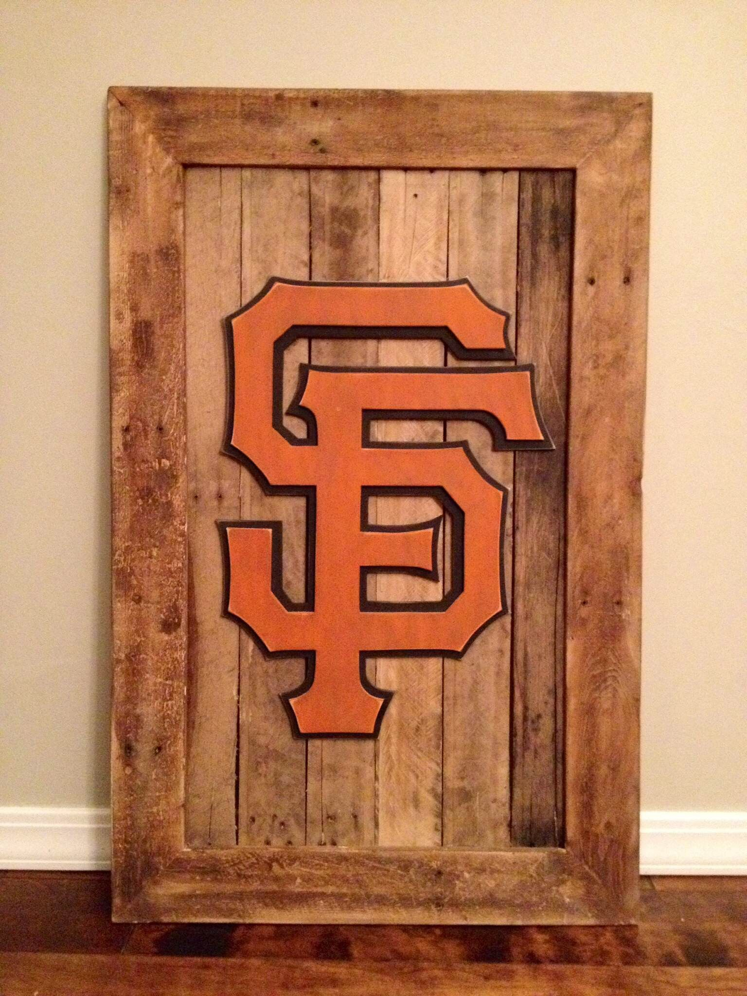 San francisco giants 3 d wood sign 3 d sports sign giants wall decor san francisco giants 3 d wood sign 3 d sports sign giants wall amipublicfo Images