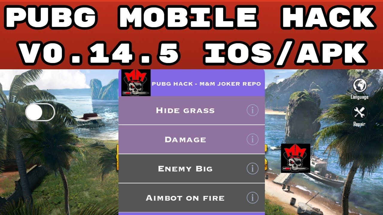 PUBG MOBILE V0.14.5 NEW iOS HACK(VIP HACK FOR FREE) Open