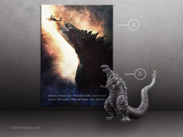 Godzilla | Displate thumbnail