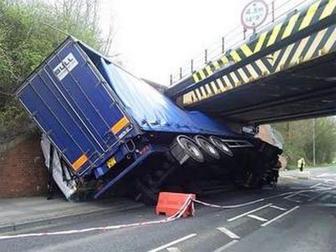 Fail Truck Crash Compilation 2015 Failarmy Crashes Youtube