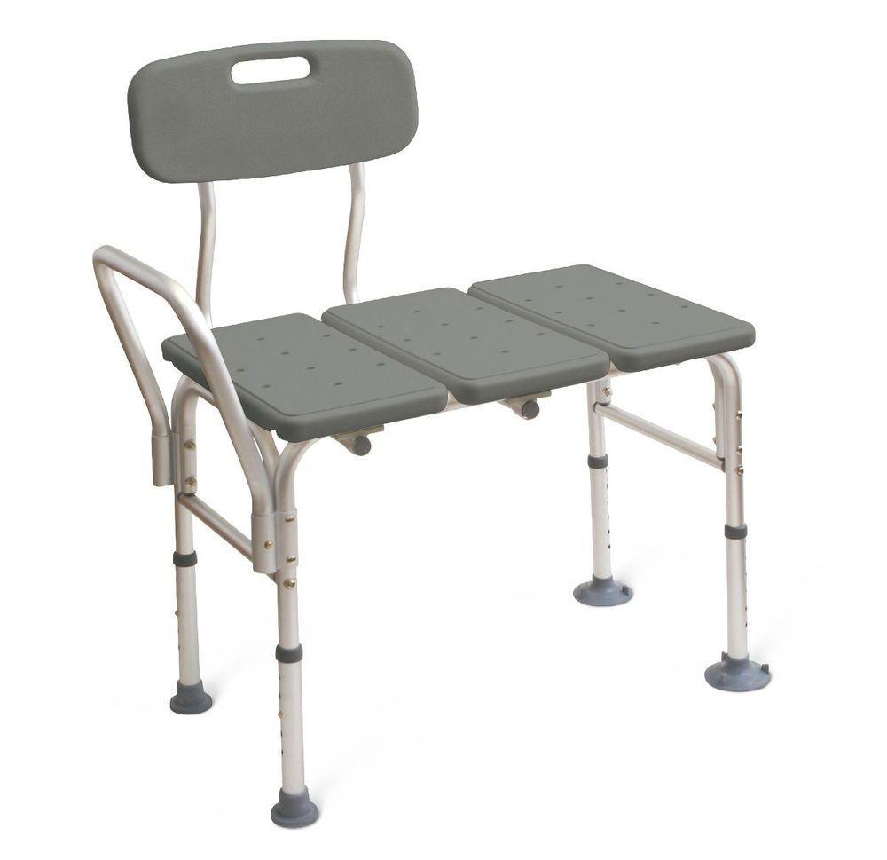 bathroom bath tub transfer bench chair shower seat ebay fiji teak ...