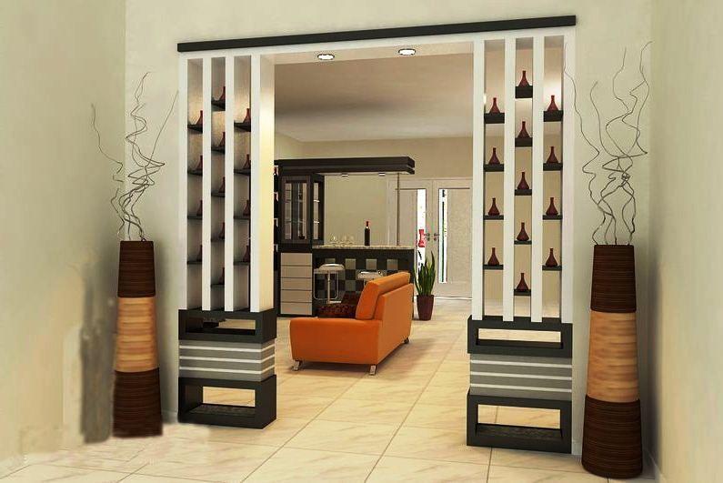Contoh Gambar Sekat Ruangan Tamu Minimalis Pembatas Ruangan Desain Ide Dekorasi Rumah