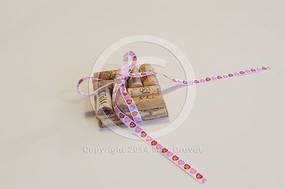 SALE Valentines Day Gift Wine Cork Coasters by MaxplanationPhotos, $4.80