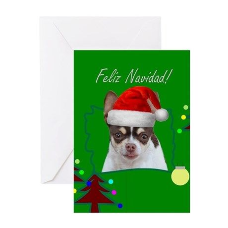 Feliz navidad chihuahua dog greeting cards beauty of mexico gifts feliz navidad chihuahua dog greeting cards christmas cards card chihuahua chihuahuas dog pet animal holiday naviad spanish greetingcards m4hsunfo