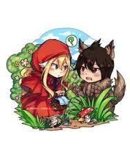 Le petit chaperon rouge x le grand méchant loup