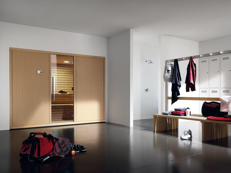 Sauna Gym De La Firma Effegibi#interiorismo #saunas  Saunas En Fair Gym Bathroom Designs Design Inspiration
