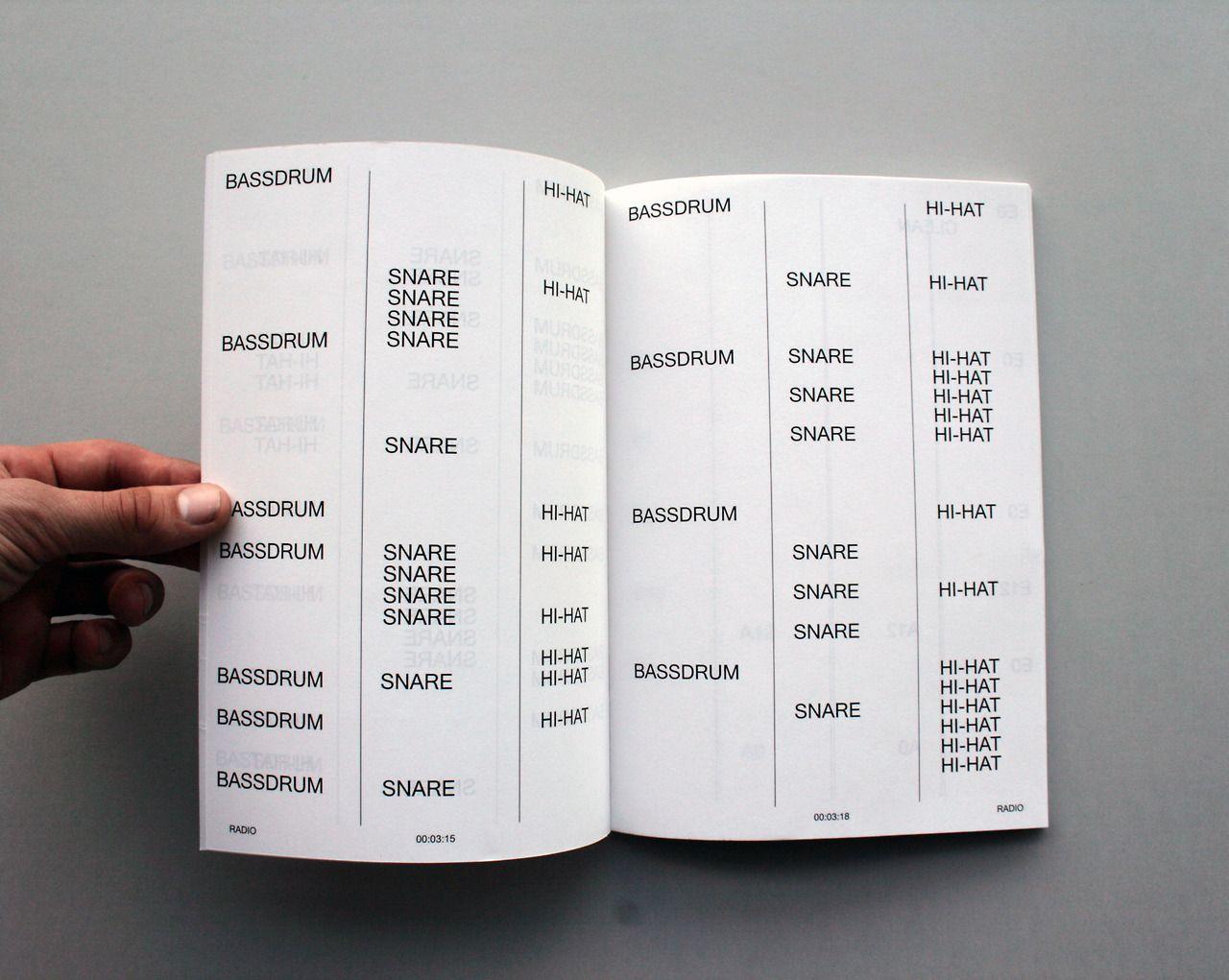Drum Beat Print Source Timobonneure Book Layout Magazine Layout Printed Materials