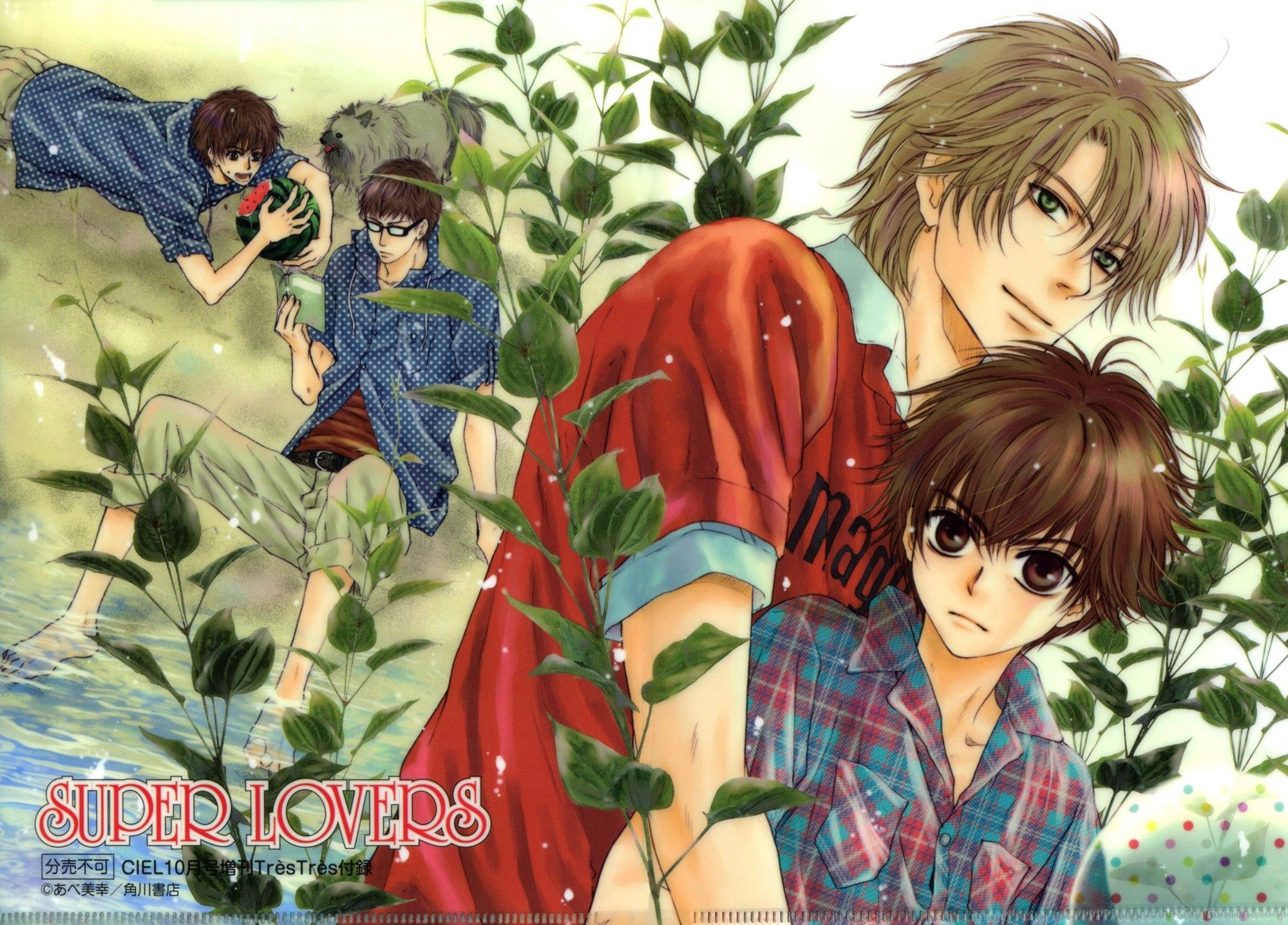 Image result for super lovers the anime wallpapers | anime ...