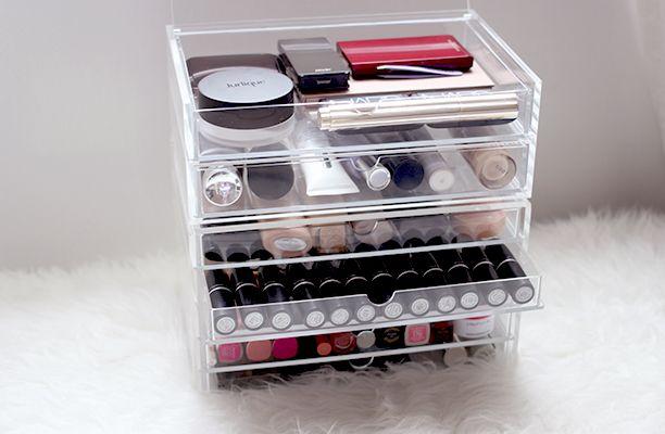 Muji Makeup Organizer Custom Makeup Storage With Muji Nouvelle Daily  Makeup Storage Muji And Design Inspiration