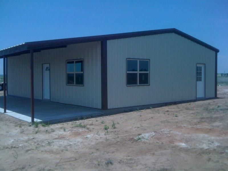Pictures of metal buildings with living quarters joy for Building a shop with living quarters