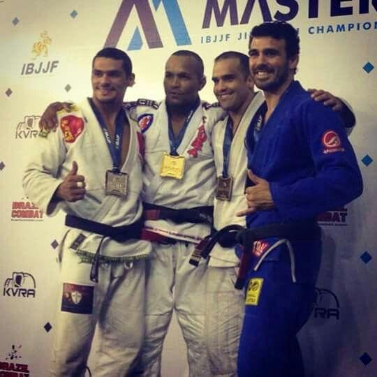 IBJJF Masters 2015 - Professor Rodrigo Teixeira Winning.