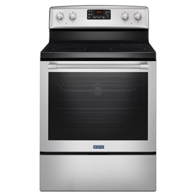 Maytag 30 In Smooth Surface Freestanding 4 6 4 Cu Feet Self