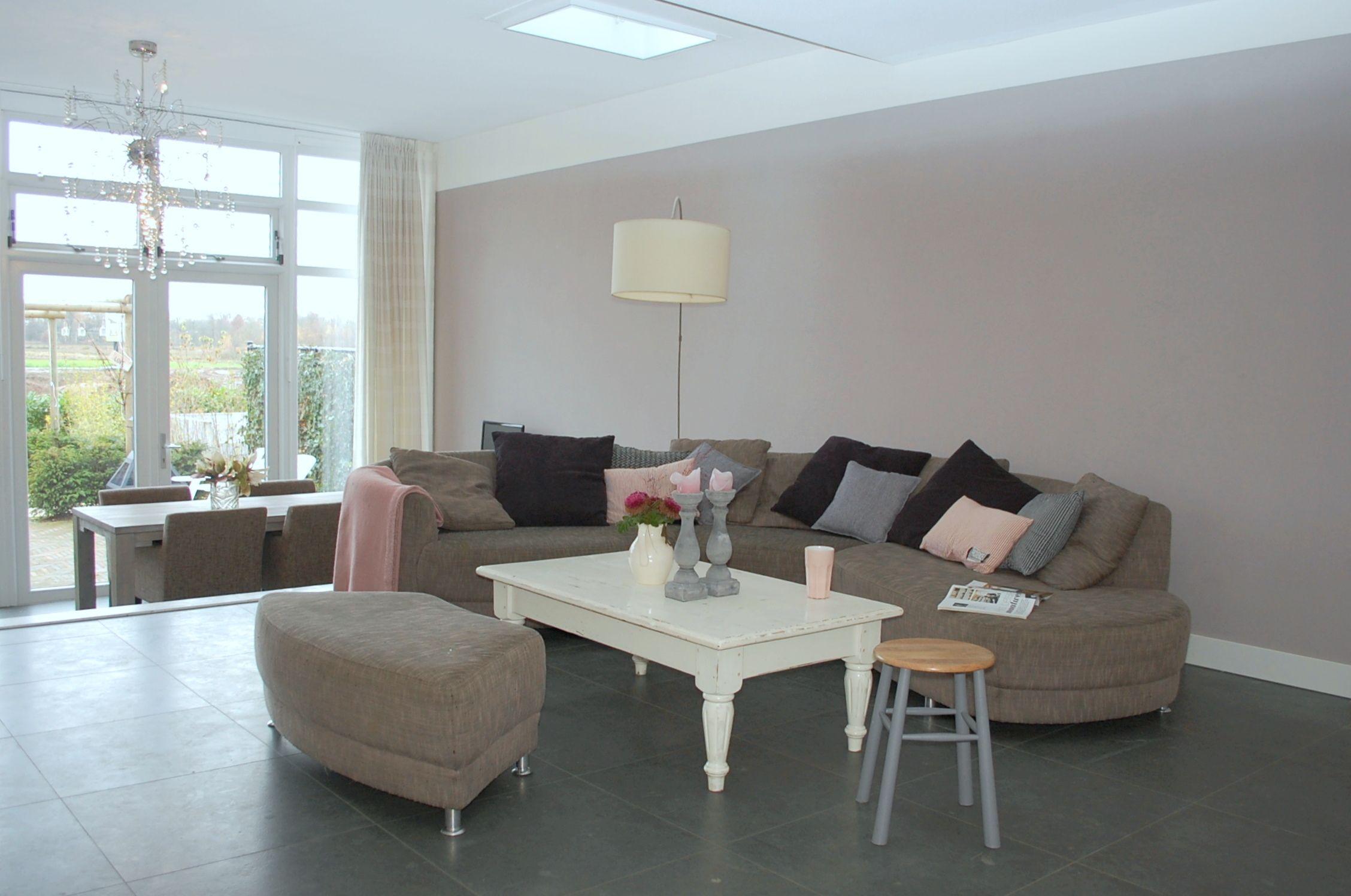 Kleuradvies woonkamer google zoeken woonkamer kleur for Taupe woonkamer