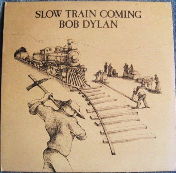 Bob Dylan Slow Train Coming Lp 1979 Vinyl Record Album In