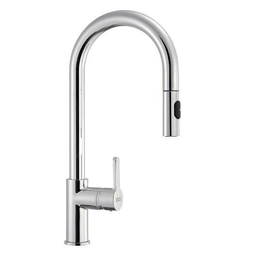 Kitchen Taps Pull Out Spray Basin Mixer Sink Tap Mono Chrome Mono Faucet ONE